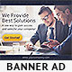 Corporate Web Banner Design Template 34 - GraphicRiver Item for Sale