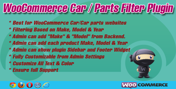 CodeCanyon WooCommerce Car Parts Filter Plugin 6556524