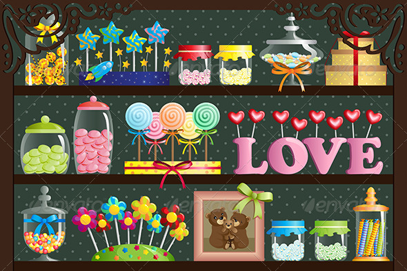 GraphicRiver Candy Shop 6556629