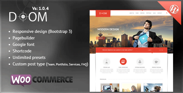 Doom Multipurpose Premium WordPress Theme