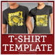 Here We Go Football Theme T-shirt Design - GraphicRiver Item for Sale