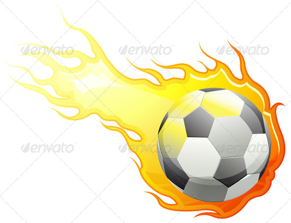 GraphicRiver Football on Fire 6559689