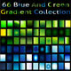 Blue And Green Gradient Collection For Illustrator - GraphicRiver Item for Sale