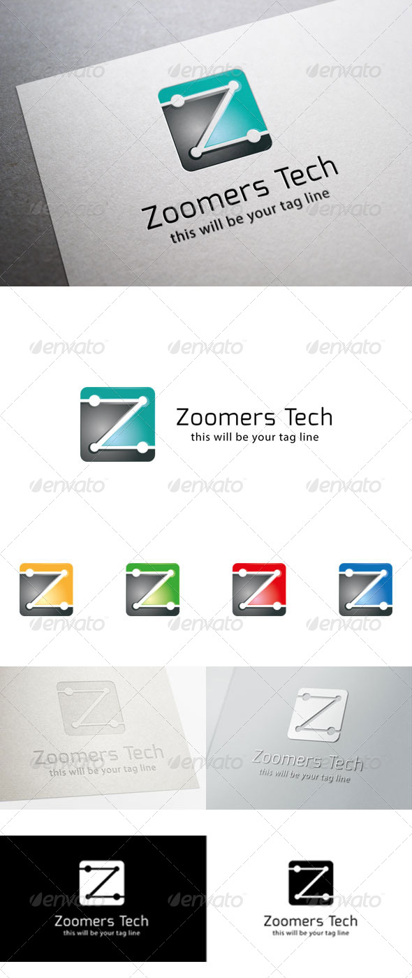 GraphicRiver Z Logo Template 6561936