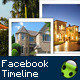 Real Estate Facebook Timeline - GraphicRiver Item for Sale