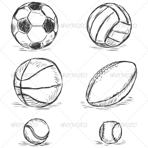 GraphicRiver Sport Balls 6562616