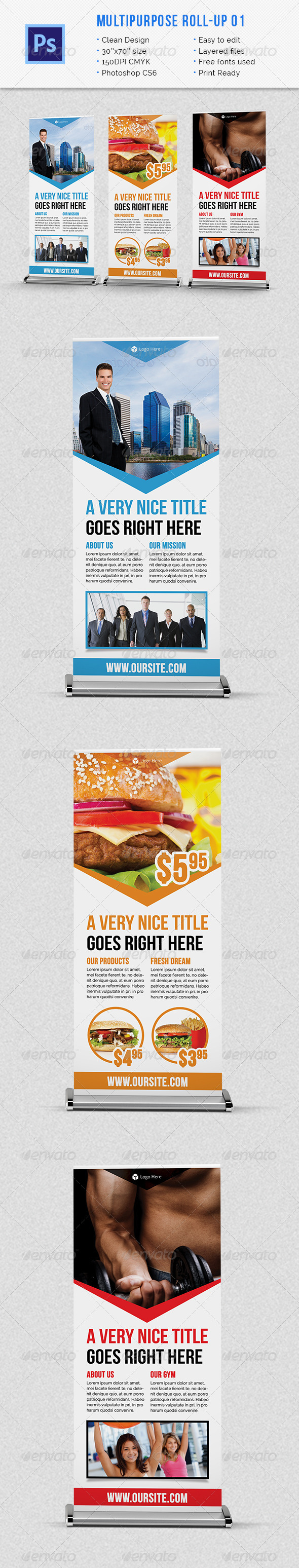 GraphicRiver Multipurpose Roll-up 01 6559499
