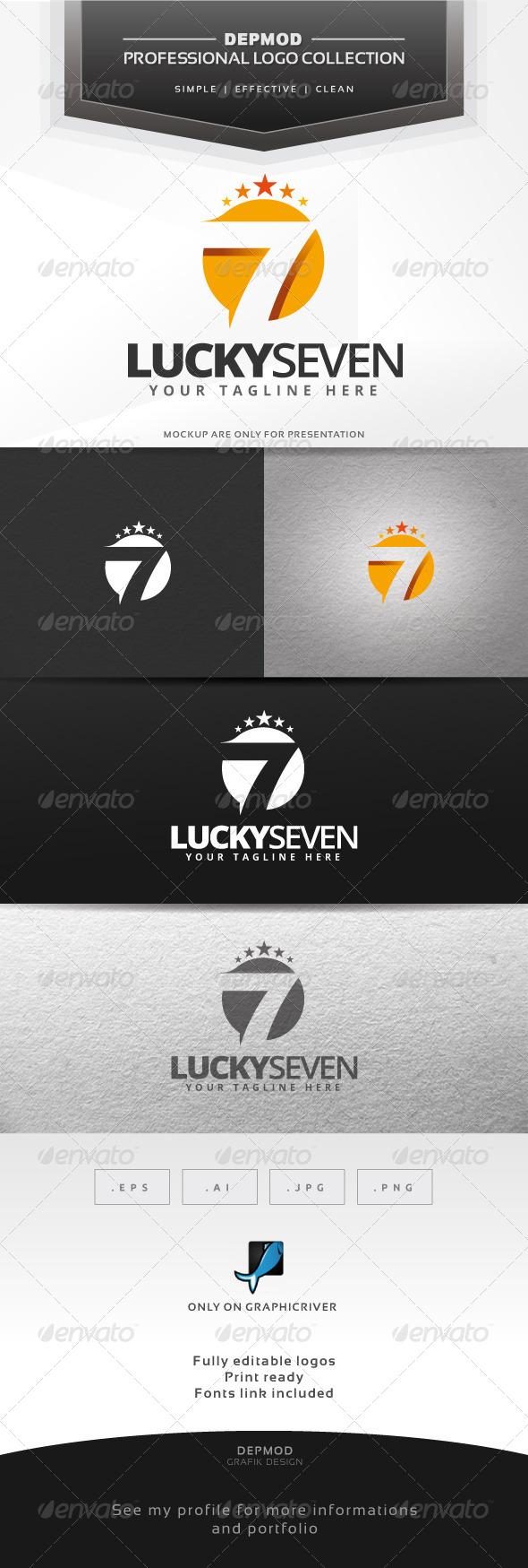GraphicRiver Lucky Seven Logo 6563624