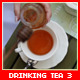 Drinking Tea In Restaurant 3 - VideoHive Item for Sale