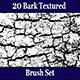 20 Bark Texture Photoshop Brush Set - GraphicRiver Item for Sale