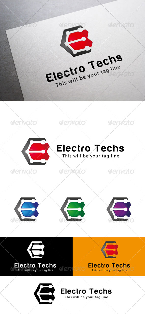 GraphicRiver E Logo Template 6564970
