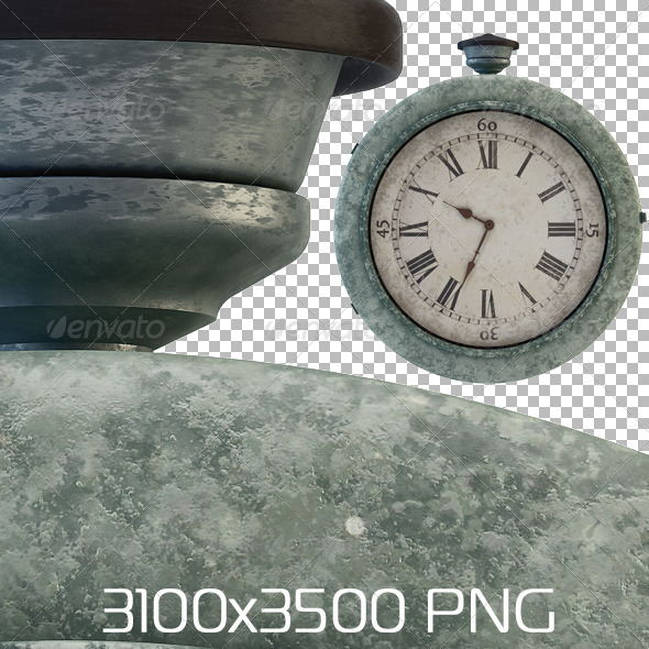 GraphicRiver Railway Station Old Clock 6565224