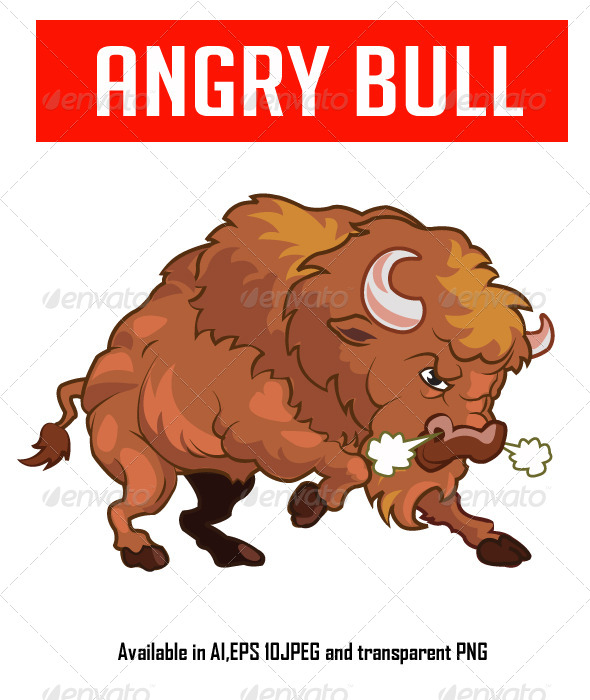 GraphicRiver Angry Bull 6565673