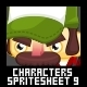 Characters Spritesheet 9 - GraphicRiver Item for Sale