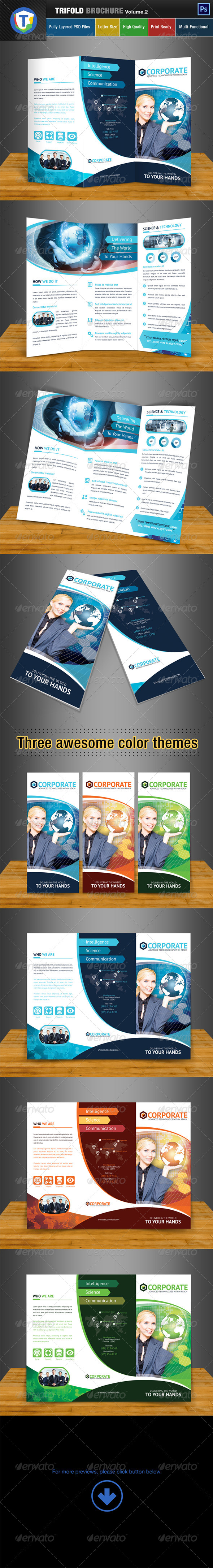 GraphicRiver Trifold Brochure Volume 2 6566115
