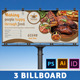 Restaurant Business Billboard | Volume 3 - GraphicRiver Item for Sale