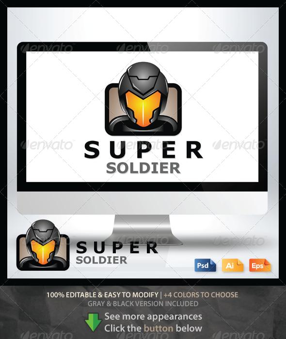 GraphicRiver Super Soldier Logo 6568387