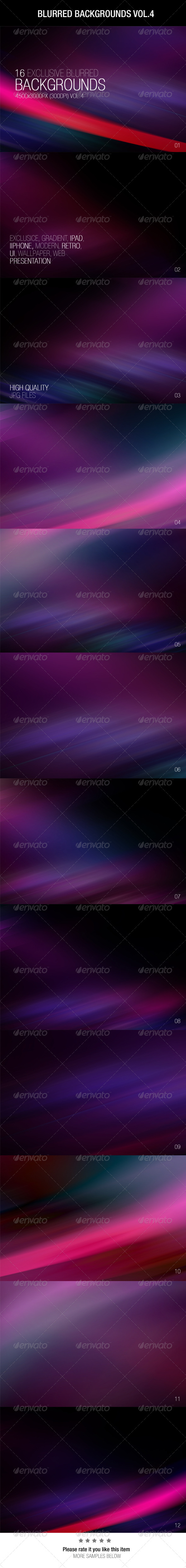 GraphicRiver Blurred Backgrounds Vol.4 6568666