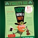 St. Patrick's Day Party Event Poster/Flyer - GraphicRiver Item for Sale