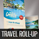 Travel Roll-up Banner 02 - GraphicRiver Item for Sale