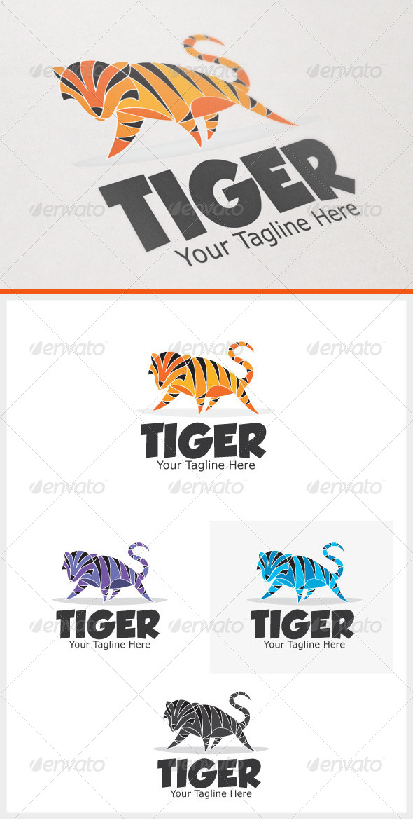 GraphicRiver Tiger 6570371