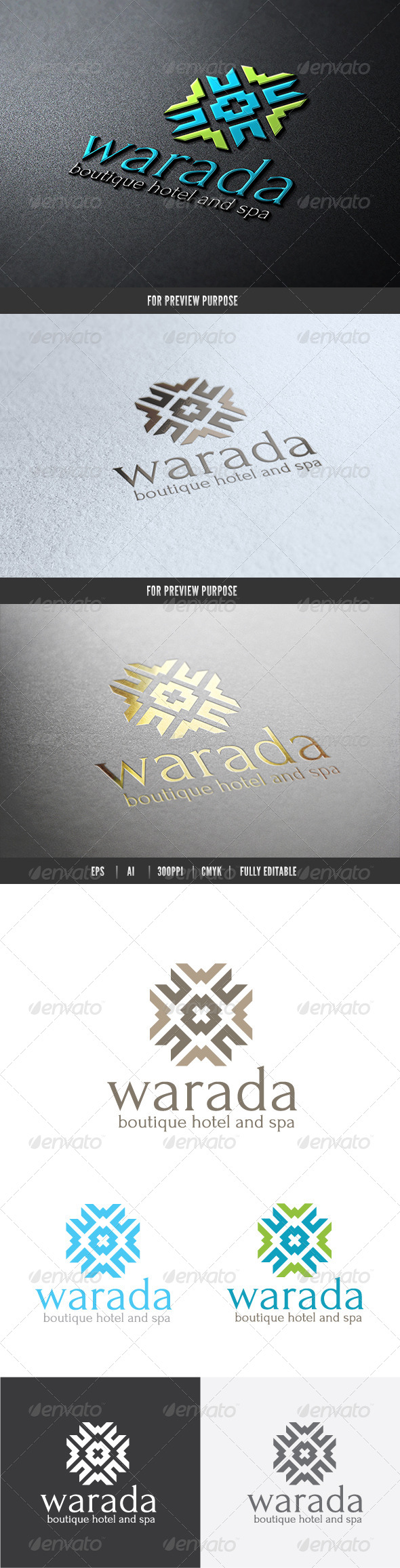 GraphicRiver Hotel and Spa 6570437