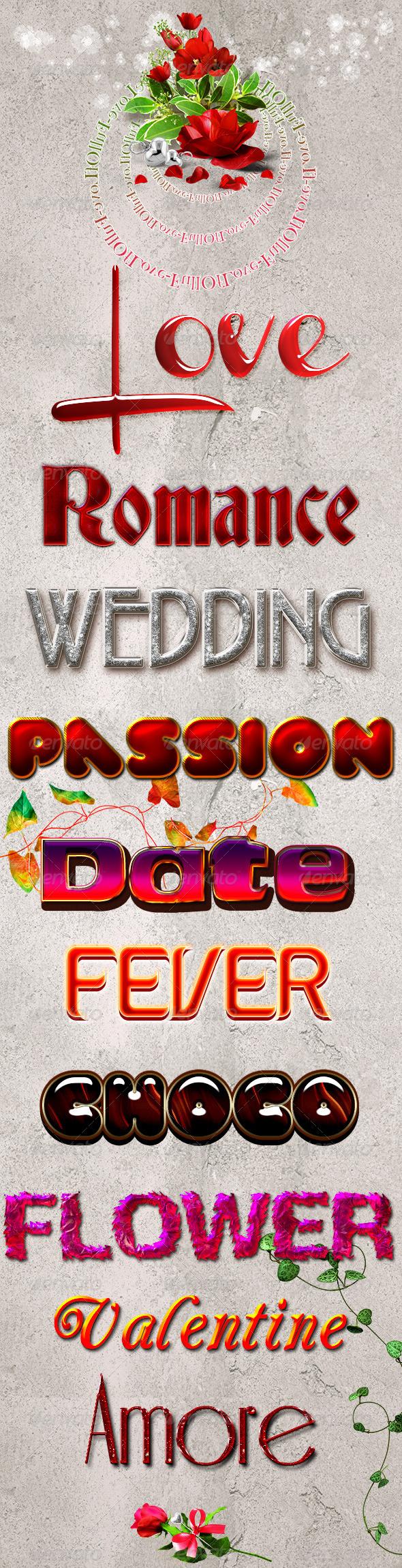 GraphicRiver Valentine Styles 6571506