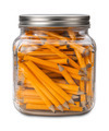 Golf Pencils in a Jar isolated - PhotoDune Item for Sale
