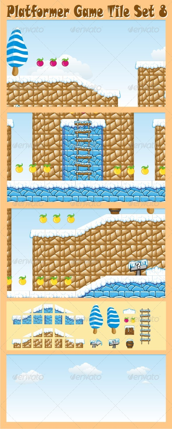 GraphicRiver Platformer Game Tile Set 8 6572923