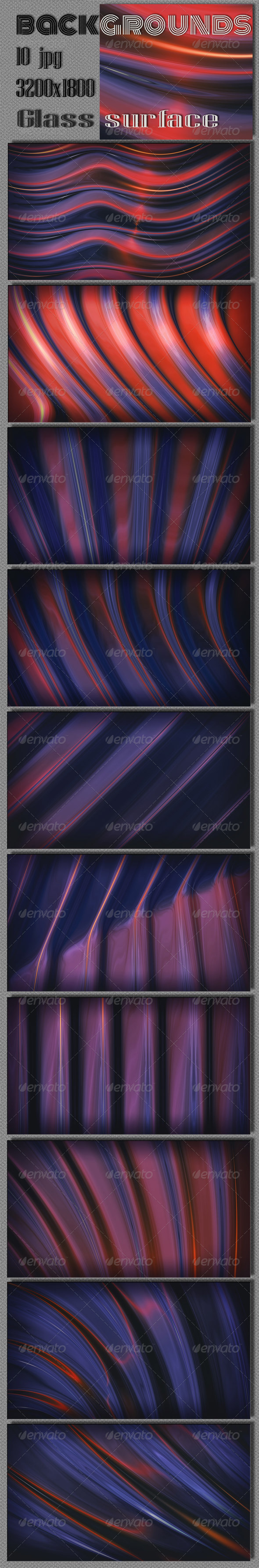 GraphicRiver Glass Surface Backgrounds 6572968