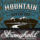 Mountain Adventure T-shirt Event Template - GraphicRiver Item for Sale