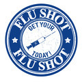 Flu shot stamp - PhotoDune Item for Sale