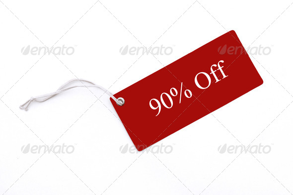 Red Tag - Stock Photo - Images
