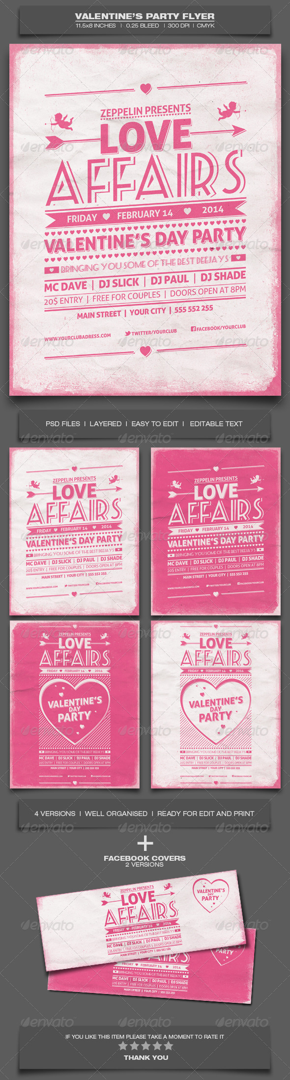 GraphicRiver Valentine s Day Party Event Flyer Template 7 6573532