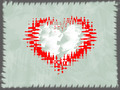 Valentine Background With Border - PhotoDune Item for Sale