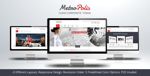 Metropolis - Clean Multipurpose Theme - Creative Site Templates