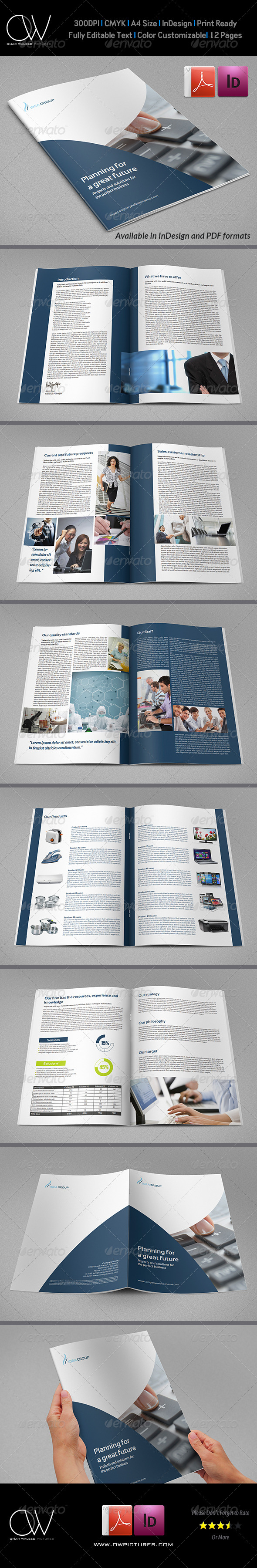 GraphicRiver Corporate Brochure Template Vol.19 12 Pages 6577693
