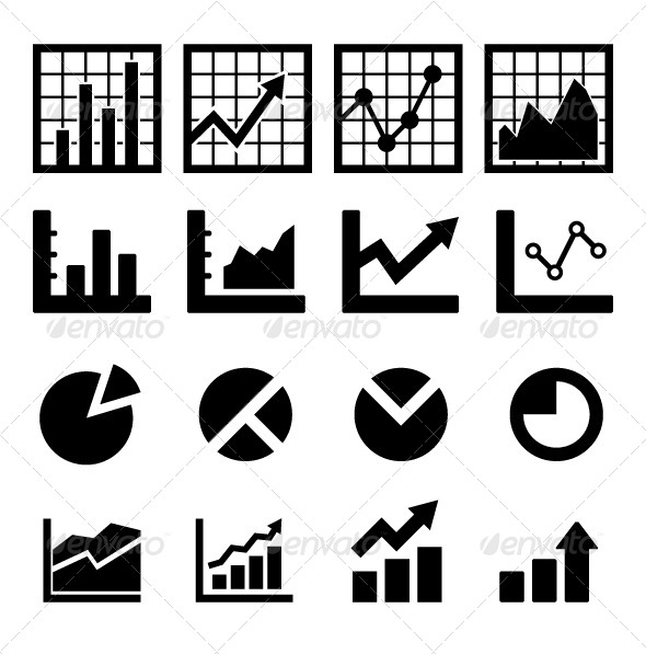 GraphicRiver Chart and Diagram Icon 6578554