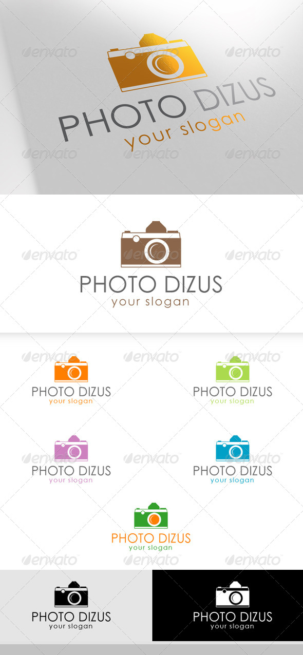 GraphicRiver Photo Dizus Logo 6578922