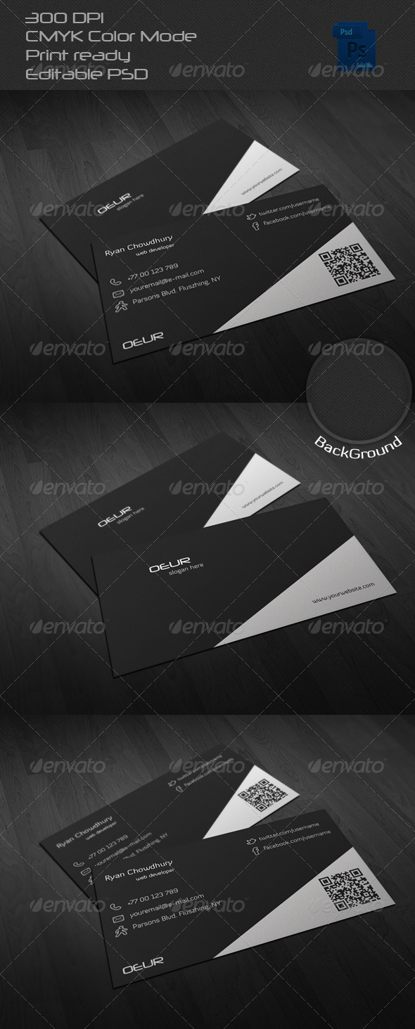 GraphicRiver Corporate Business Card 14 6578945