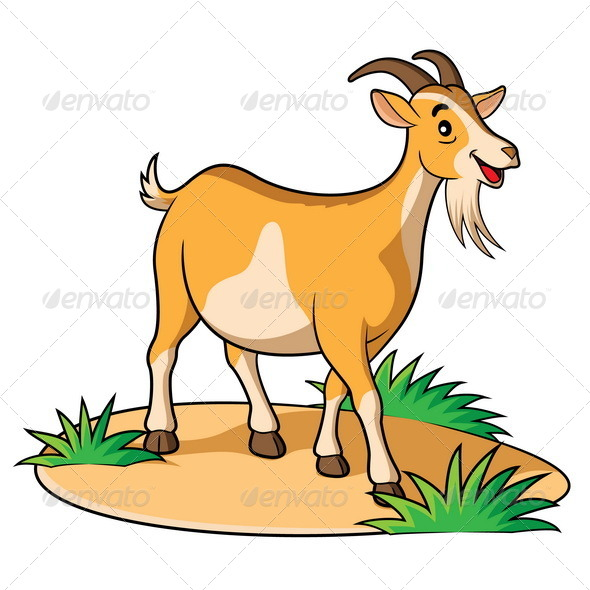 GraphicRiver Goat Cartoon 6580963