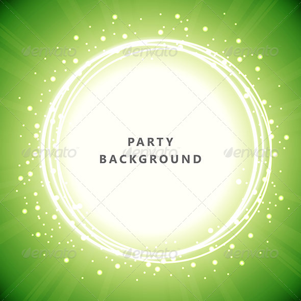 GraphicRiver Party Background 6581486
