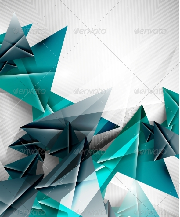 GraphicRiver Geometric Shape Abstract Triangle Background 6581569