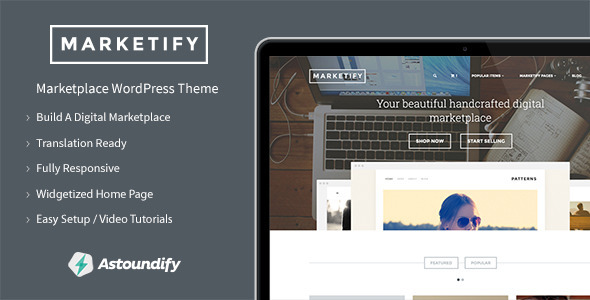 Marketify - Marketplace WordPress Theme - eCommerce WordPress