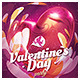 Valentine`s Day, Love Night Party Flyer - GraphicRiver Item for Sale