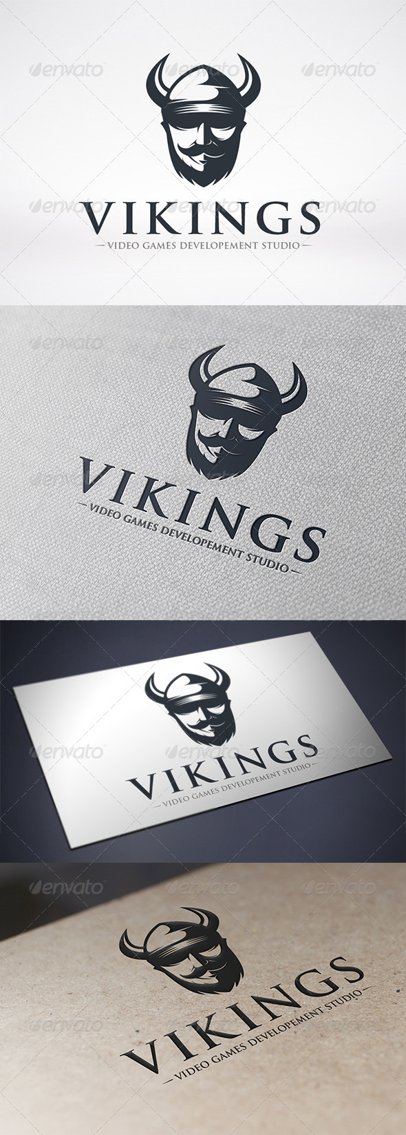 GraphicRiver Viking Logo Template 6582265