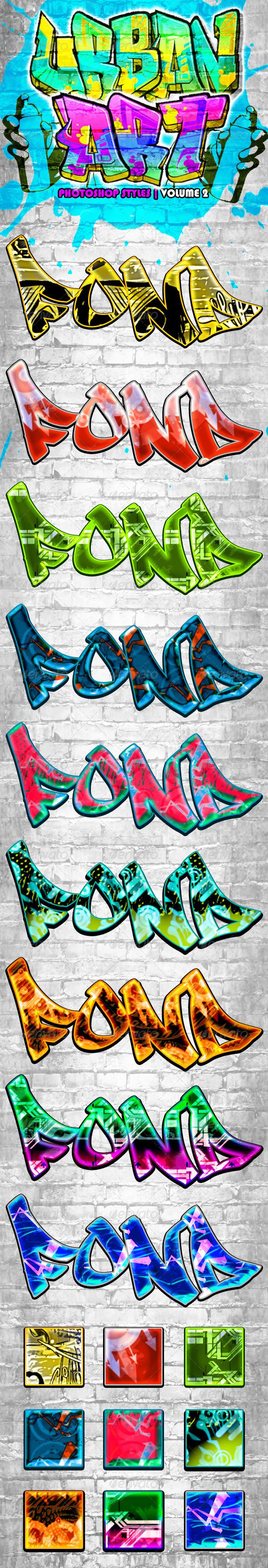 GraphicRiver Urban Art Graffiti Styles Volume 2 6583021