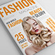 25 Pages Fashion Magazine Vol1 - GraphicRiver Item for Sale