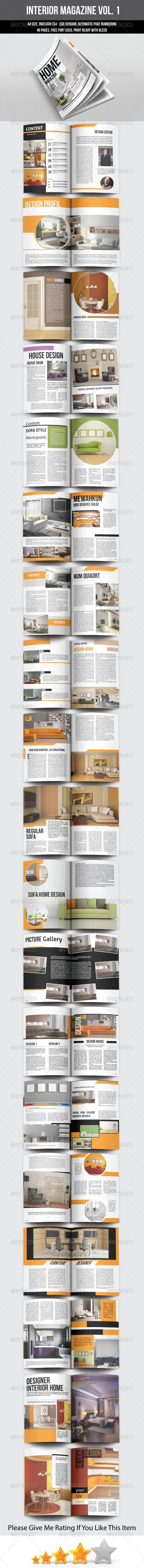 GraphicRiver Interior Magazine Template 6583760