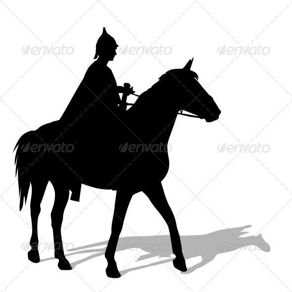 GraphicRiver Rider on a Horse 6583998